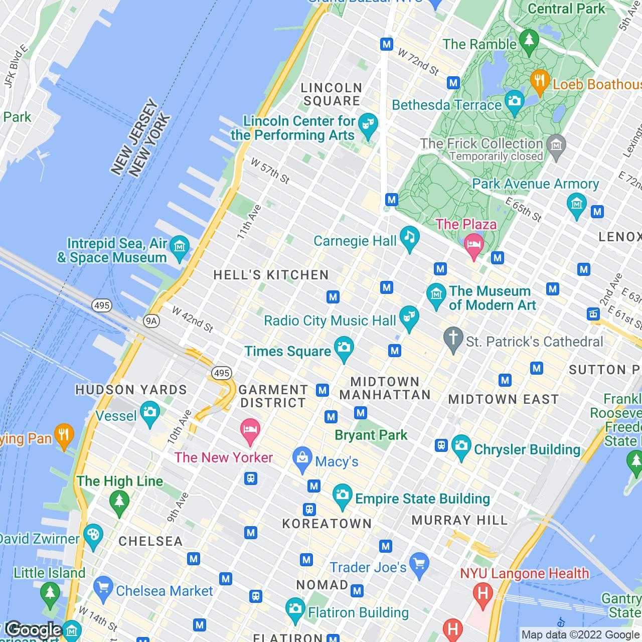 what's nearby. gray line citysightseeing new york bus tours